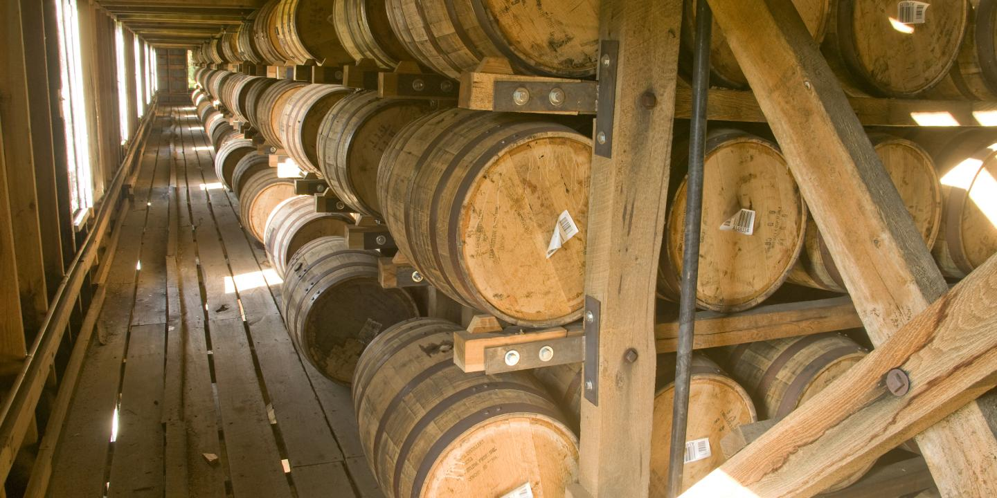Barrelhouse at Jack Daniel's Distillery