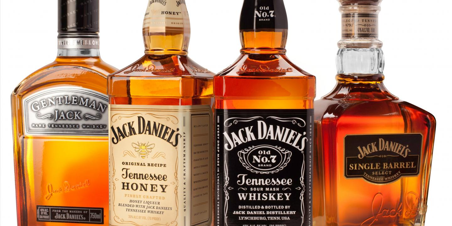 Jack Daniel's Bottle Shot
